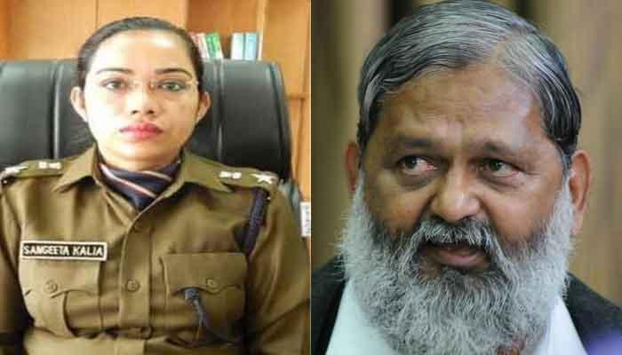 Haryana: Woman IPS officer Sangeeta Kalia transferred over spat with Minister